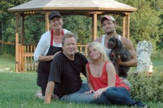 Jesper and Pamela Andersen and family of Lavender Sense, Wallacetown, Ontario
